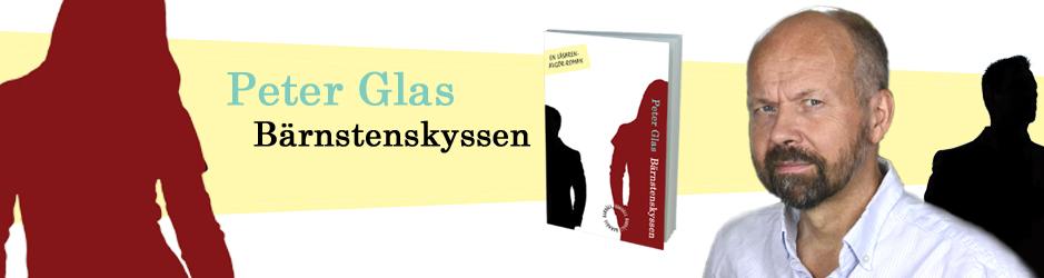 Peter Glas nya roman Bärnstenskyssen styrs av läsaren